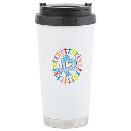 Thyroid Disease Unite Ceramic Travel Mug