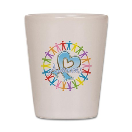 Thyroid Disease Unite Shot Glass