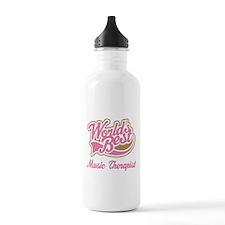 Music Therapist (World's Best) Water Bottle