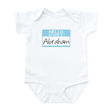Hello, My Name is Abraham - Infant Bodysuit