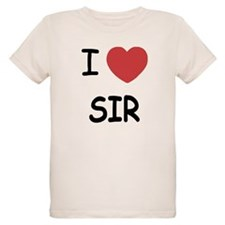 I heart sir T-Shirt