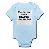 Skate like Dad Infant Creeper