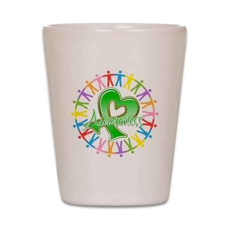 TBI Unite in Awareness Shot Glass