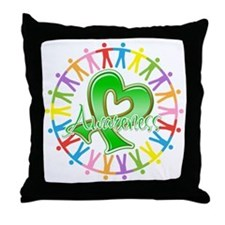 TBI Unite in Awareness Throw Pillow