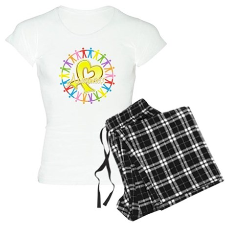 Suicide Prevention Unite Women's Light Pajamas