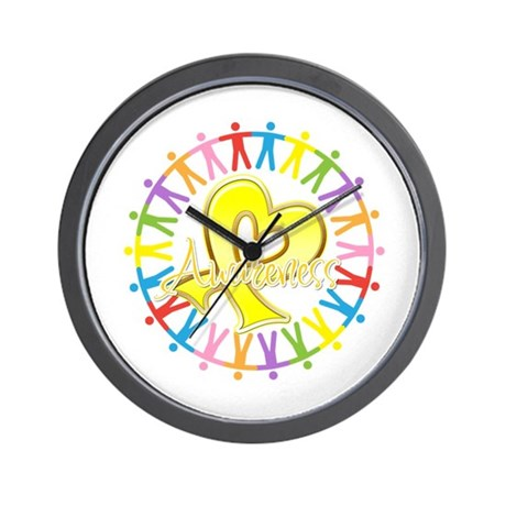 Suicide Prevention Unite Wall Clock