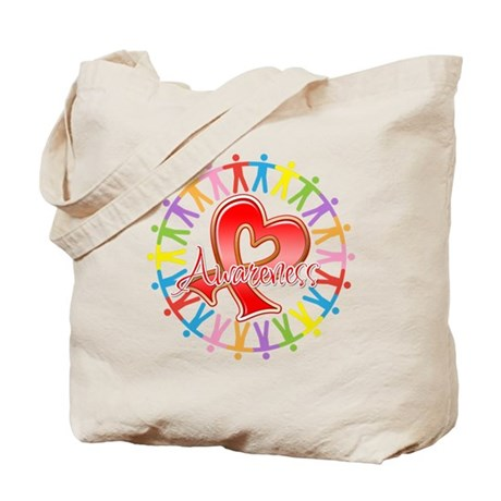 Stroke Disease Unite in Awareness Tote Bag