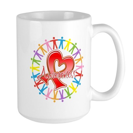 Stroke Disease Unite in Awareness Large Mug