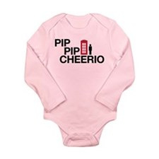 Pip Pip Long Sleeve Infant Bodysuit