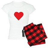 Red Cupid 2-Sided Pajamas