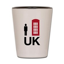 UK Shot Glass