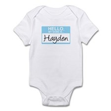 Hello, My Name is Hayden - Infant Bodysuit