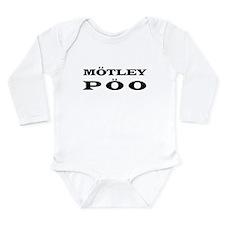"""Motley Poo"" Long Sleeve Infant Bodysuit"