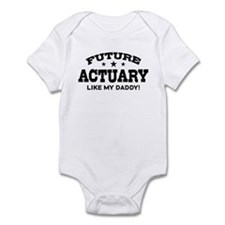 Future Actuary Like My Daddy Infant Bodysuit
