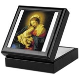 Madonna and Child Keepsake Box