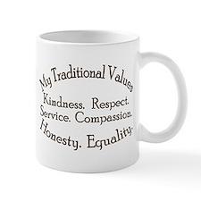 My Traditional Values Mug