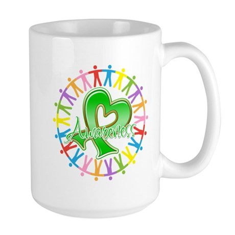 Spinal Cord Injury Unite Large Mug