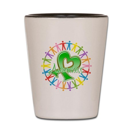 Spinal Cord Injury Unite Shot Glass