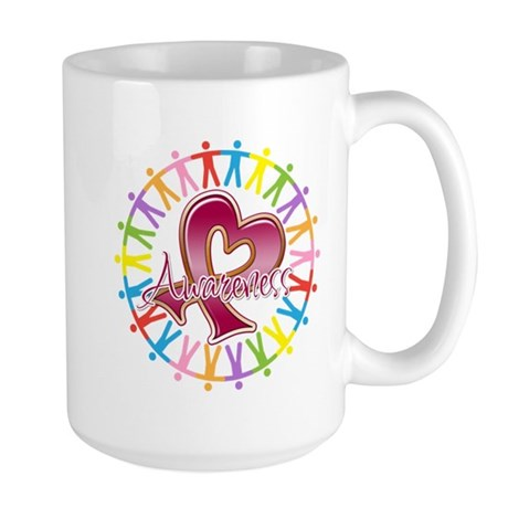 Sickle Cell Anemia Unite Large Mug