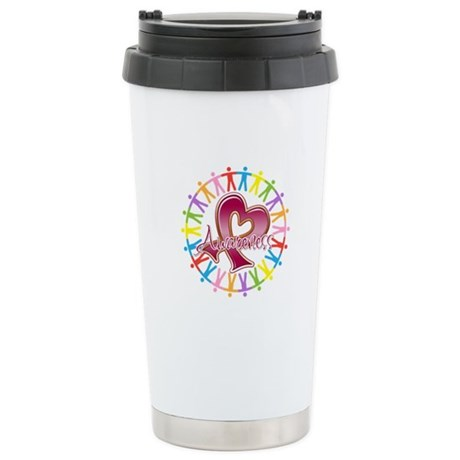 Sickle Cell Anemia Unite Ceramic Travel Mug