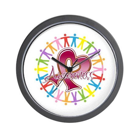 Sickle Cell Anemia Unite Wall Clock