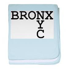 BRONX NYC baby blanket