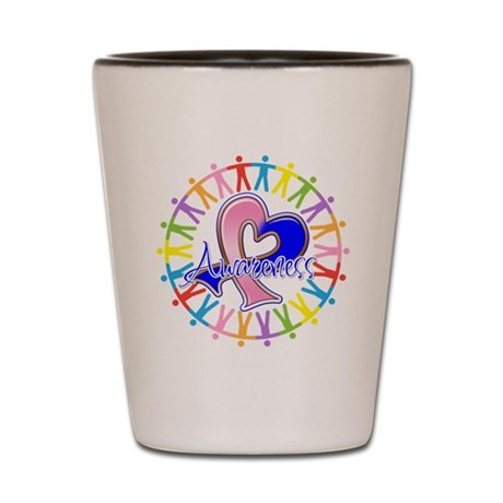 SIDS Unite in Awareness Shot Glass