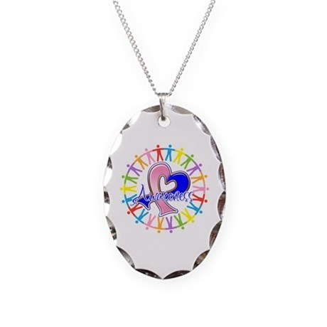 SIDS Unite in Awareness Necklace Oval Charm