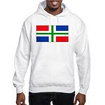 Groningen Gronings Blank Flag Hooded Sweatshirt