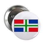 Groningen Gronings Blank Flag Button