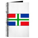 Groningen Gronings Blank Flag Journal
