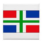 Groningen Gronings Blank Flag Tile Coaster