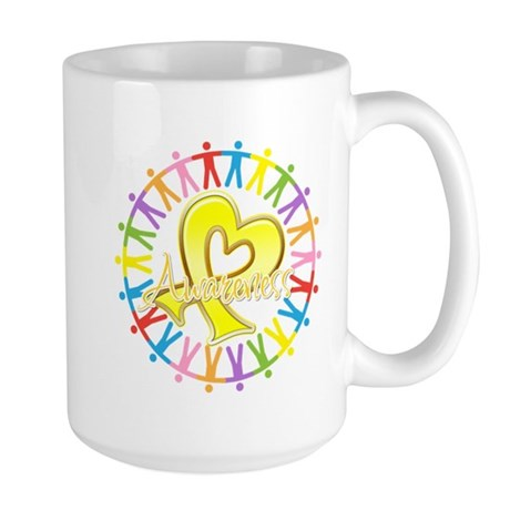Sarcoma Unite in Awareness Large Mug