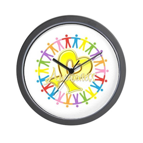 Sarcoma Unite in Awareness Wall Clock