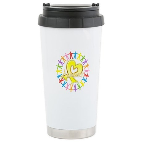 Sarcoma Unite in Awareness Ceramic Travel Mug