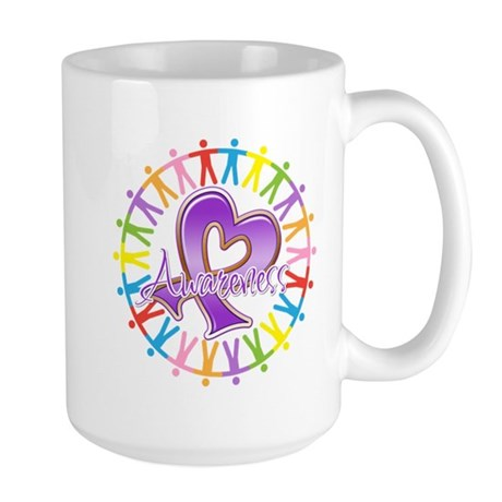 Sarcoidosis Unite in Awarenes Large Mug
