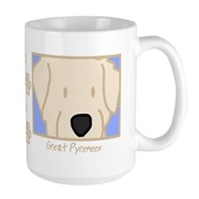 Anime Great Pyrenees Mug