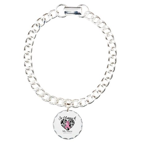 In Memory of My Niece Charm Bracelet, One Charm
