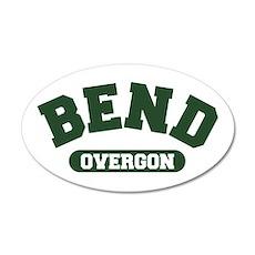 Bend Over-gon 22x14 Oval Wall Peel