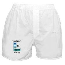 1st Cruise (personalized) Boxer Shorts