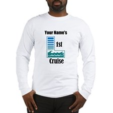 1st Cruise (personalized) Long Sleeve T-Shirt