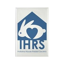 Indiana House Rabbit Society Rectangle Magnet