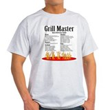 Grill Master Guide Ash Grey T-Shirt