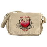 My Heart Belongs to Whitney Messenger Bag
