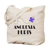 Anorexia Hurts Tote Bag