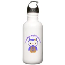 Help Fight Anorexia Periwinkle Water Bottle