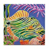 Trigger Fish Tile Coaster