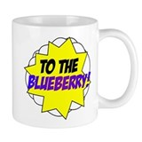 Psych, To The Blueberry! Small Mug