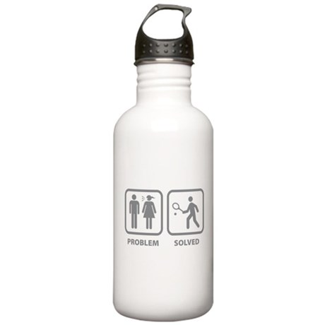 Problem Solved Tennis Stainless Water Bottle 1.0L