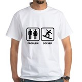 Problem Solved Snowboarding  Shirt
